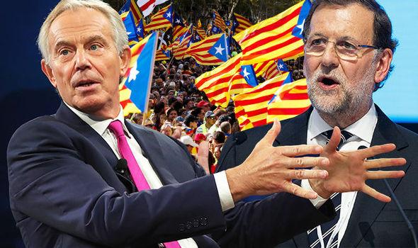 Catalonia-crisis-Tony-Blair-talks-Spain-Madrid-Rajoy-862179